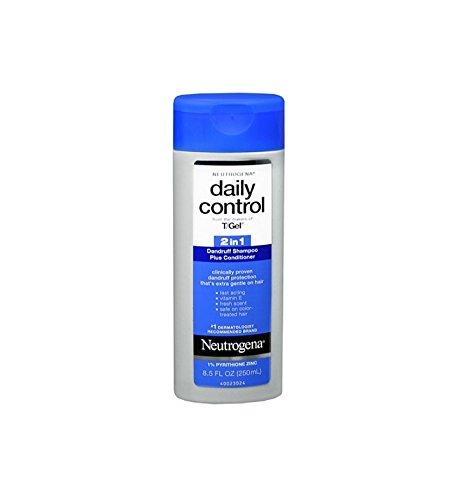 Neutrogena T/Gel Daily Control 2-In-1 Dandruff Shampoo 8.5oz (6 Pack) (Daily Control T-gel Neutrogena Shampoo)