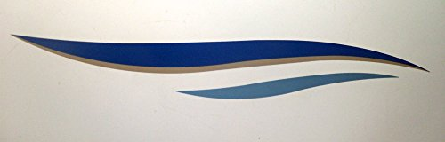 2 New Boat Rv Trailer Graphic Decals-1411 ()
