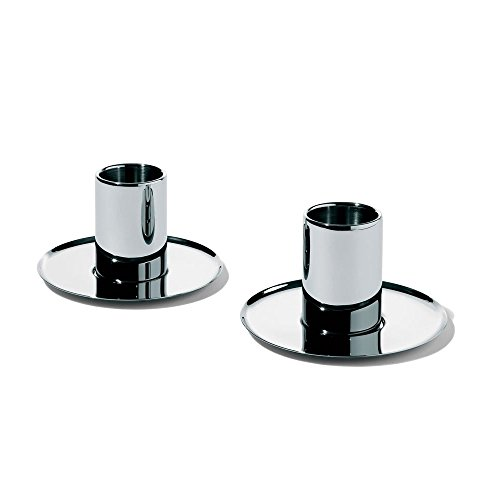 Nouvel Mocha Cup and Saucer (Set of 2) [Set of 2] by Alessi