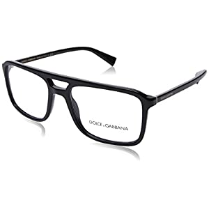 Dolce & Gabbana Men's DG3267 Eyeglasses Black 54mm