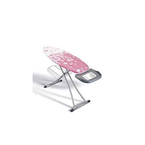 Metaltex 41807180080 Alhena Table /à Repasser M/étal Rose 125 x 44 cm