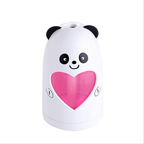 er Air Humidifie Children's Room Bedroom Bathroom Living Room Office Car Outdoor(11.36.8cm) air purifier (Design : Panda models) ()