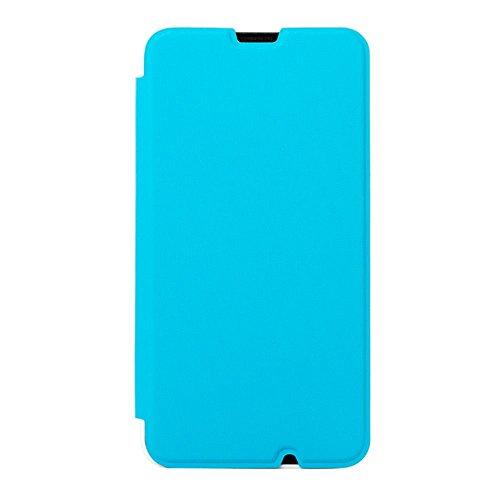 Mozo Flip Cover Case for Nokia Lumia 630/635 – Blue