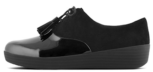 FitFlop ™ - CLASSIC TASSEL SUPEROXFORD™ BLACK - 4.5 UK, BLACK