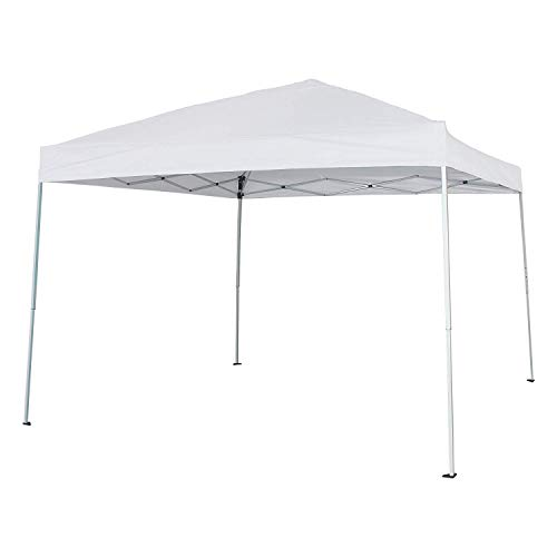 BaoChen Pop Up Canopy Tent – Gazebo Canopy Replacement 10′ x 10′ Instant Folding Canopy with Carry Bag, White