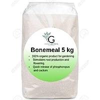 Indian Gardens 100% Organic Natural Plant Fertilizer Bone Meal Powder - 5 kg
