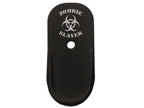 Zombie Slayer Biohazard arc Pinky Finger Grip Extension For Beretta NANO 9mm By NDZ Performance