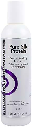 Curly Hair Solutions Pure Silk Protein   8oz/240ml   Deep Moisturizing Treatment