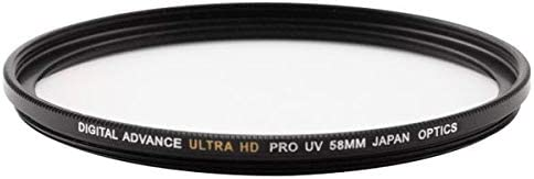 Black 58mm Ultra HD Pro Digital Advance Multi-Coated UV Lens Filter