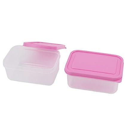 Amazon.com: El almuerzo caja de vacío Bento PP Food Storage ...