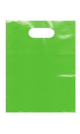 9 x 12 Low Density 1.25 mil Merchandise Bag Pink Pack of 25