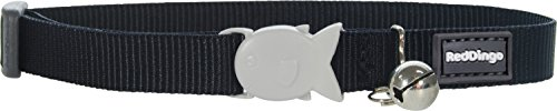 317UBe9oagL - Red Dingo Classic Cat Collar, One Size Fits All