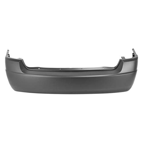 MBI AUTO - Painted to Match, Rear Bumper Cover for 2004 2005 2006 2007 Chevy Malibu LS LT LTZ 04 05 06 07, GM1100679