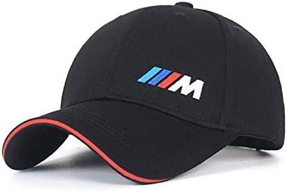 Amazon.com: Westion Car Logo Embroidered Black Color Adjustable Baseball Caps for Men and Women Hat Travel Cap Car Racing Motor Hat (fit B-M): Automotive
