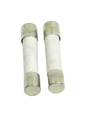 TPI A110 UL Ceramic Fuse, 10 Amp, 600V, For 100 Series Digital Multimeters (Pack of 2)