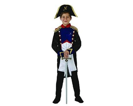 Atosa 70081 Costume Da Generale Francese Bambino Napoleone T-4 (10 12 Anni 90b5fd537a07