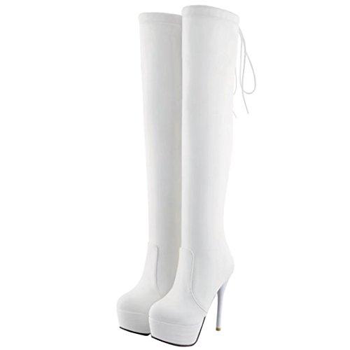 Classic White Women's AIYOUMEI Women's Boot AIYOUMEI wSFpMtqxg