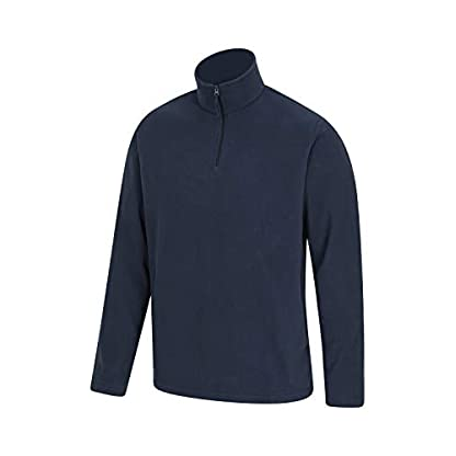 Mountain Warehouse Mens Camber Fleece Top - Lightweight Top, Breathable Sweater, Quick Drying Pullover, Extra… 2