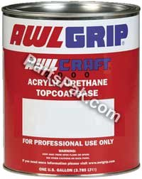 Awlgrip Top Coat - Awlgrip Awlcraft 2000 Acrylic Urethane Top Coat Quart, Stark White F8155Q