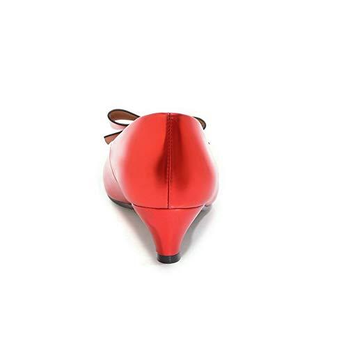 Donna 35 con Red Rosso Sandali APL10735 Zeppa BalaMasa Sx8wPI0qx