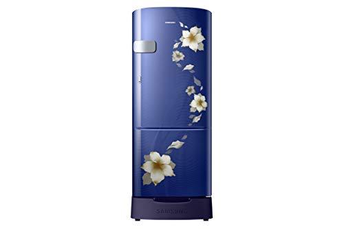 Samsung 192 L 3 Star Inverter Direct-Cool Single-Door Refrigerator (RR20R1Z2ZU2/HL, Star Inverter Flower Blue)