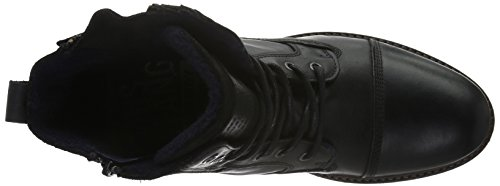 Mustang Mannen 4890-503 Korte Laarzen Zwart (black 9)
