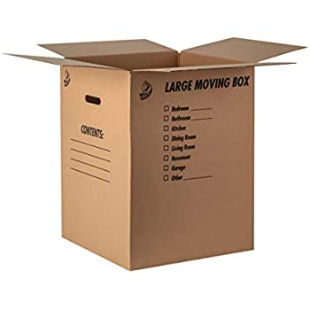 b867778136d Amazon.com   EcoBox Dish Barrel Heavy Duty Moving Box 18 x 18 x 28 ...