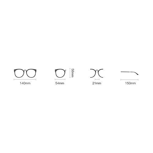 Hombre Gafas B de de polarizadas conducción Retro mujer Parejas Amazing Gafas de Color sol t8dxq0SwOO