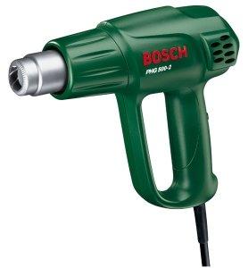 1600 W Bosch PHG 500-2 Pistola t/érmica de aire caliente//decapante