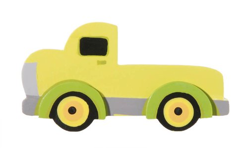 Truck Cut Out (Darice 9199-13 Natural Painted Wood Cutout, Truck, Green)