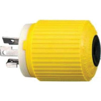 Hubbell HBL328DCP - Conector eléctrico para carrete de pesca