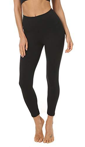 FIRM ABS Womens Yoga Capris Tummy Control Running Yoga Workout Leggings Pants Hidden Pocket