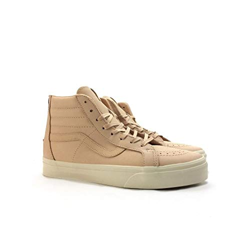 Vans Sk8 Hi Zip (Veggie Tan Leather) Men's 9 (Vans Sk8 Hi Zip)