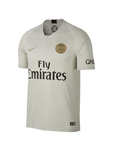 Shirt Away Nike (NIKE 2018-2019 Paris Saint-Germain (PSG) Away Stadium Jersey (Light Bone) (S))