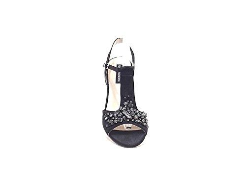 Barachini , Damen Sandalen schwarz schwarz