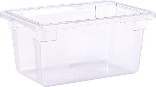(Carlisle 1061207 Storplus Polycarbonate Food Storage Box, 5 gal. Capacity, Clear (Case of 6))