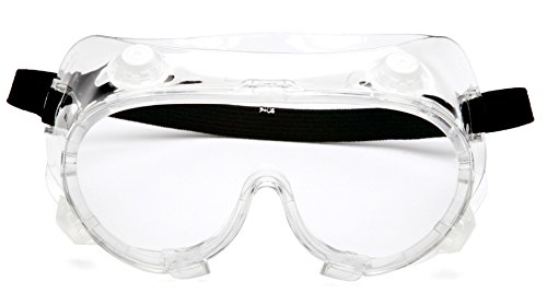 Pyramex G204t Indirect Vent, Chemical Splash Anti-fog Goggles