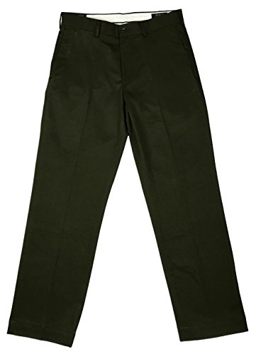 Polo Ralph Lauren New Chino Classic Fit Flat Front Pants Green (Ralph Lauren Pant Suit)