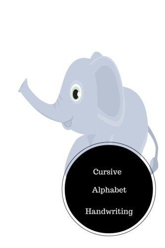 Cursive Alphabet Handwriting: Practice Writing Cursive Letters ...