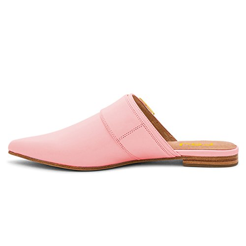 Shoes 15 Flats US Comfortable Women Casual Slip Mules Toe Walking Pointed 4 Pink Size FSJ On Sandals q6PtFWZ