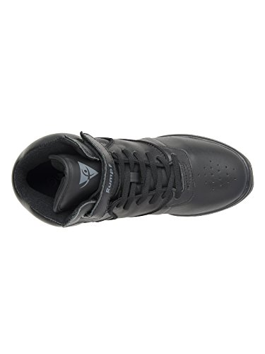 Rumpf - Classic Dancesneaker zapatilla de baile con suela de goma partida, negro Negro