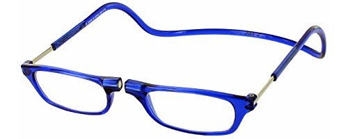 Clic Magnetic Reading Glasses in Blue ; - Clicks Eyeglasses