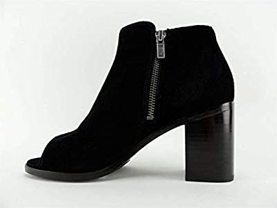 Frye Womens Danica Leather Peep Toe Ankle Chelsea Boots