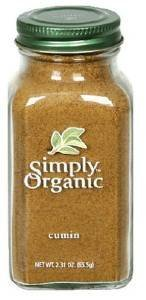 Simply Organic Ground Cumin Seed, 2.31 Ounce - 6 per case.