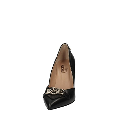 Ja10117ac05 Mujer Moschino Negro Tacón Love De Zapatos C7ZxwU