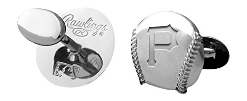 MLB Pittsburgh Pirates Engraved Cuff Links