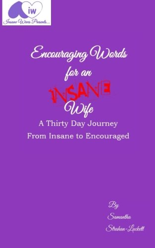 Download Encouraging Words for an Insane Wife: A Thirty Day Journey from Insane to Encouraged pdf
