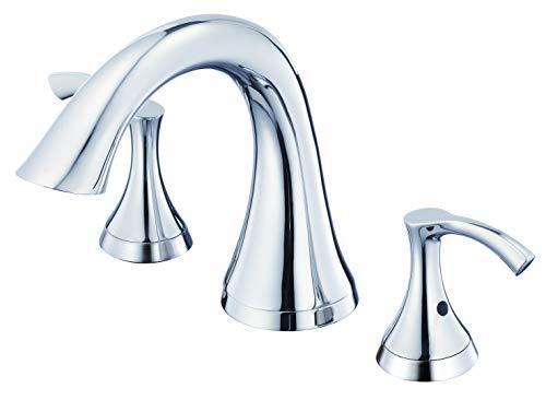 Danze D300922T Antioch Two Handle Roman Tub Faucet Trim Kit, Valve Not Included, Chrome