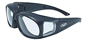 e6528e4fb9 Image Unavailable. Image not available for. Colour  Global Vision Outfitter  Motorcycle Glasses (Black Frame Clear Lens)