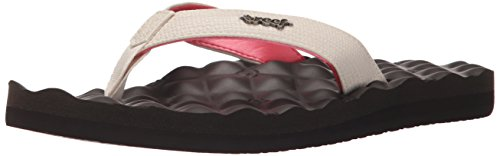 Reef Women's Reef Dreams Flip Flop, Cream Brown, 9 M US